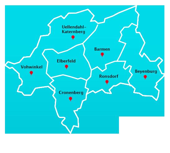 Wuppertal Karte Stadtteile.Treppenhausreinigung Stadtteile Wuppertal Gelford Gmbh